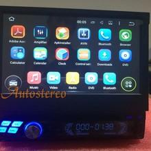Универсальный Android четырехъядерный автомобильный проигрыватель gps Система головное устройство Автомобильный DVD один DIN для универсального автомобиля