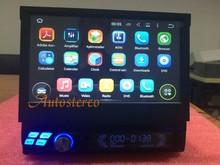 Универсальный Android Quad Core одного din Автомобильный GPS система головного устройства автомобильный DVD один din для универсальный автомобиль