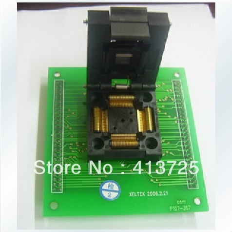 Import Sirte special IC test socket adapter convert burn S604 original plcc44 to dip40 block adapter block cnv plcc mpu51 test convert burn