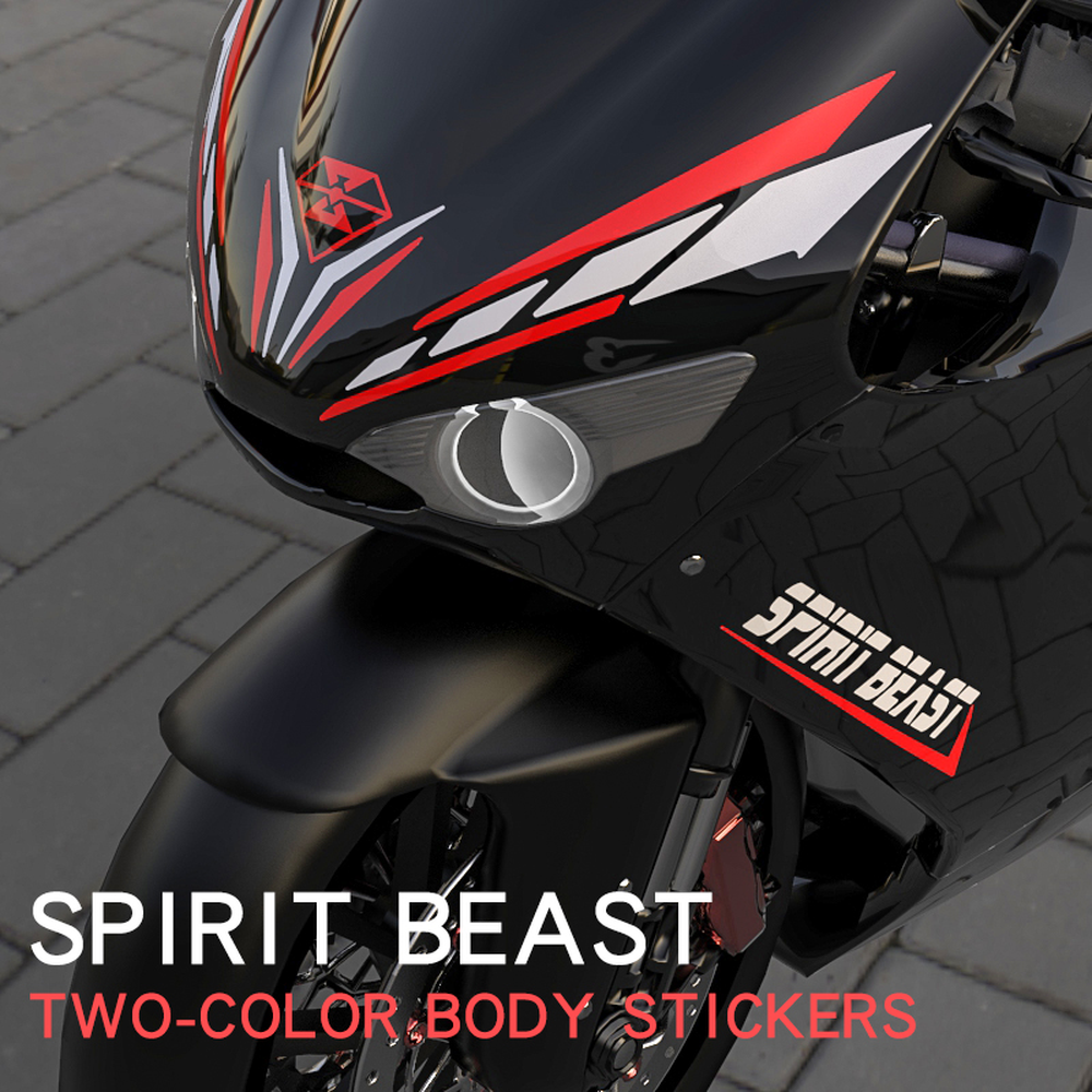 Espírito Besta Motocicleta Etiqueta Acessórios Royal Enfield À Prova D' Água para Benelli Triumph Honda Yamaha Kawasaki Ducati Bmw Suzuki