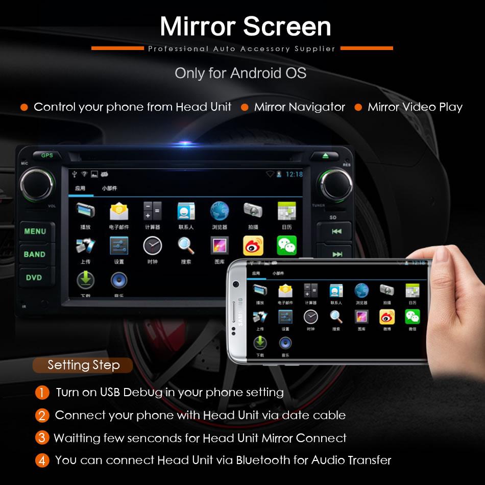 Daş DVD-də Universal 2Din Avtomobil Toyota RAV4 COROLLA EX CAMRY - Avtomobil elektronikası - Fotoqrafiya 3