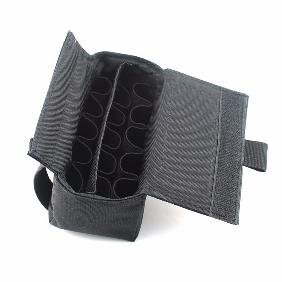 Tactical Molle Tactical Magazine Reload Shotshell Holder 15 rounds - Jacht - Foto 2