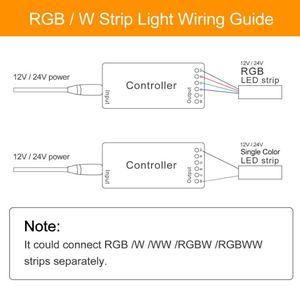 Image 5 - GLEDOPTO Controlador LED inteligente RGBCCT ZigBee Plus, funciona con Amazon Echo Plus, aplicación de Control remoto para puerta de enlace Zigbee 3,0