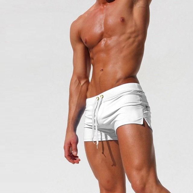 Men's Breathable Swim Boxers