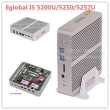 Gaming Desktop Computer Intel Broadwell Nuc Core i5 5200u 4GB RAM +SSD Fanless Micro Mini PC Windows 10 TV Box WiFi HDMI HTPC(China (Mainland))
