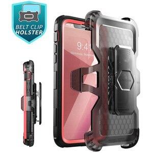 Image 5 - Için iphone X Xs Kılıf i Blason Armorbox Tam Vücut Ağır Şok Azaltma Kapak ile inşa Temperli cam Ekran Koruyucu