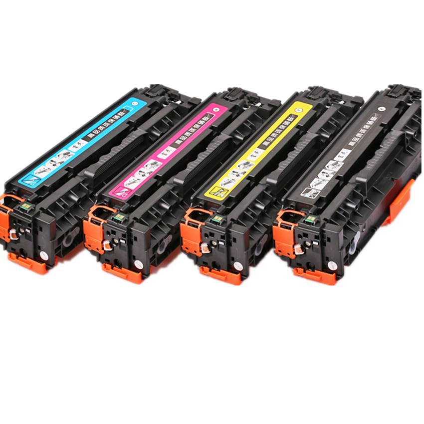 CE410A 410A <font><b>305A</b></font> Compatible Color Toner Cartridge for <font><b>HP</b></font> Laserjet PRO 300 color M451nw M451dn M451dw MFP M475dn M475dw printer image