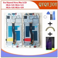 Q Y QYJOY For Huawei LCD DIsplay Touch Screen Digitizer Assembly For Huawei Nova Plus TD