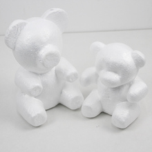 1pcs Rose Bear Foam Teddy Mold DIY Valentines Day Gift Wedding Decoration Artificial Flowers Kids Birthday Decor