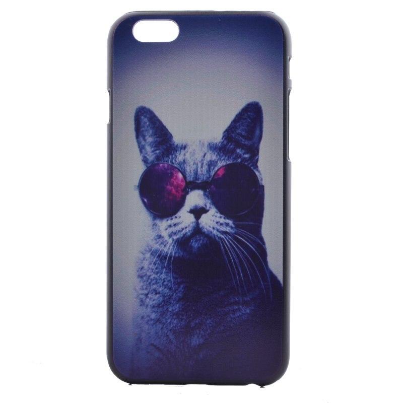 Moda de plástico duro case para iphone 6 6s plus se 5 5c 5S s + cubierta fresco