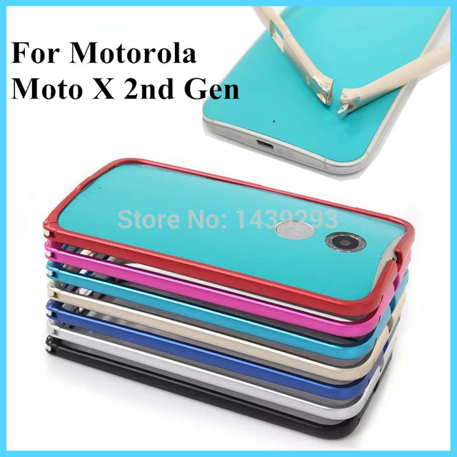separation shoes 4031b 43d70 US $8.99 |For Moto X2 Metal Bumper Frame Case Cover for Motorola Moto X 2nd  Gen X2 XT1095 XT1097 X+1 2014 Aluminum Protect Case 9 Color-in Phone ...