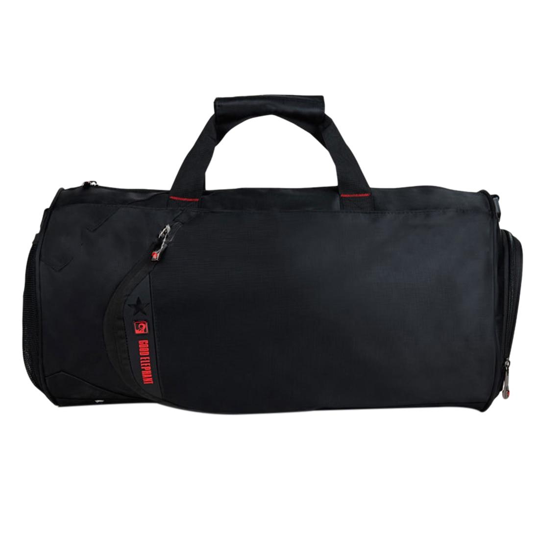 Men 18L Sports Gym Bag Soft Polyester Sport Bag Tote Duffel Travel Bag Gym Fitness Anti-Slip Sport Shoulder Bag With Pad Strap