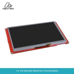 Image 2 - NEXTION 7,0 Nextion интеллектуальная серия NX8048P070 011R HMI IPS RGB 65K резистивный сенсорный дисплей без корпуса