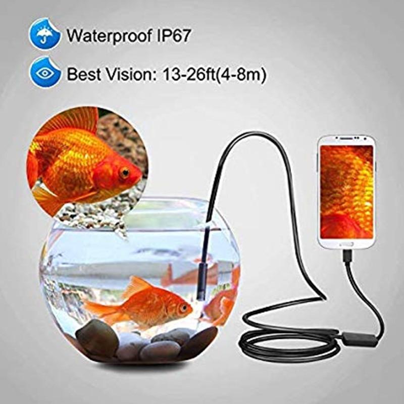 HTB1N8PSXIvrK1Rjy0Feq6ATmVXaF 720P Endoscope 8mm 5.5mm Lens Type-C/USB Android Endoscope Camera Inspection Endoscope Led Light Waterproof Phone PC Borescope