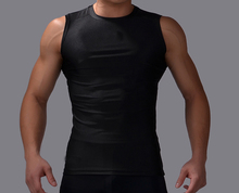 Cody Lundin Men Fitness Bodybuilding Sexy Tank Tops Gym Sport Fitness Stringer Compression Vest Running Exercise Male Clothing