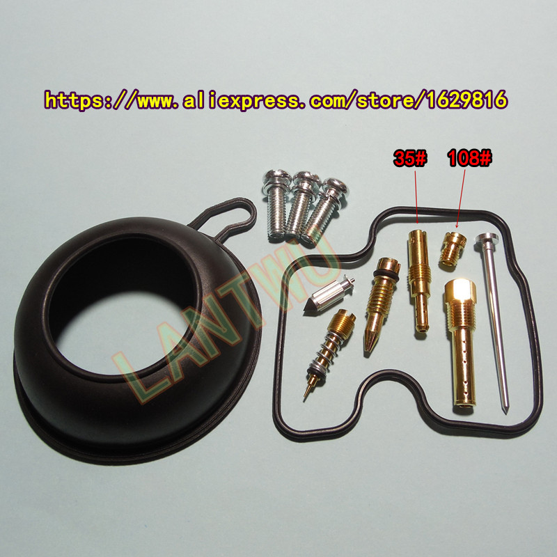 4 sets pack HMHonda motorcycle CBR29 NC29 CBR400RR R J K Keihin carburetor repair kit