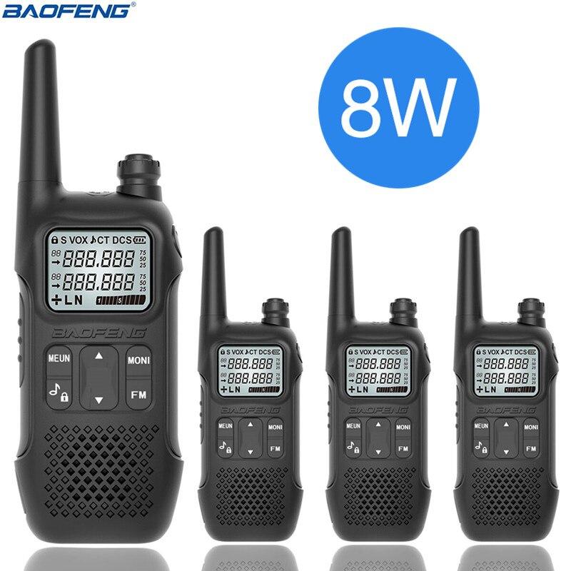 4PCS BAOFENG BF U9 8W MINI UHF 400 470MHz FM Ham Walkie Talkie USB HF แบบพกพาวิทยุ UV 5R BF 888S UV 82-ใน วิทยุสื่อสาร จาก โทรศัพท์มือถือและการสื่อสารระยะไกล บน AliExpress - 11.11_สิบเอ็ด สิบเอ็ดวันคนโสด 1