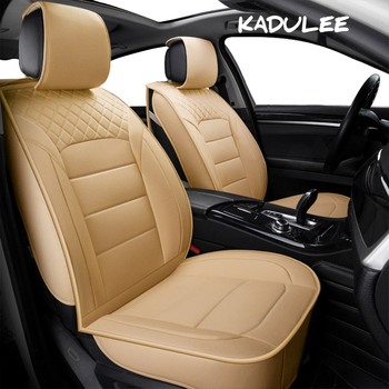KADULEE pu leather auto Universal Car Seat covers for Ford all models focus fiesta s-max mondeo explorer ecosport car styling