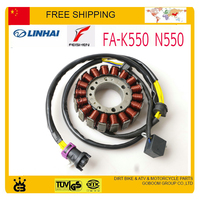 buyang FA K550 N550 feishen 550cc engine stator magneto coil12v 18coils atv quad utv accessories free shipping
