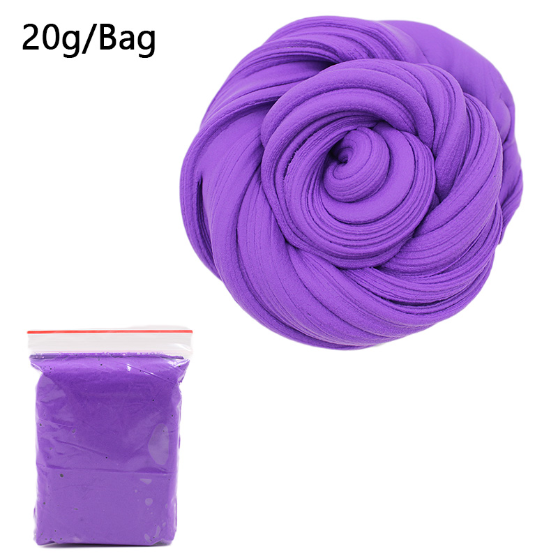 Slime charms 60ml Ball Slime Addition Cotton Charms For Slime Cloud Plastic Fishballs Decoration Toy 15