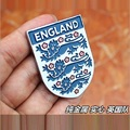 England Italy Germany France Argentina Brazil soccer national team sign metal 3D stickers boy toys for birthday gifts