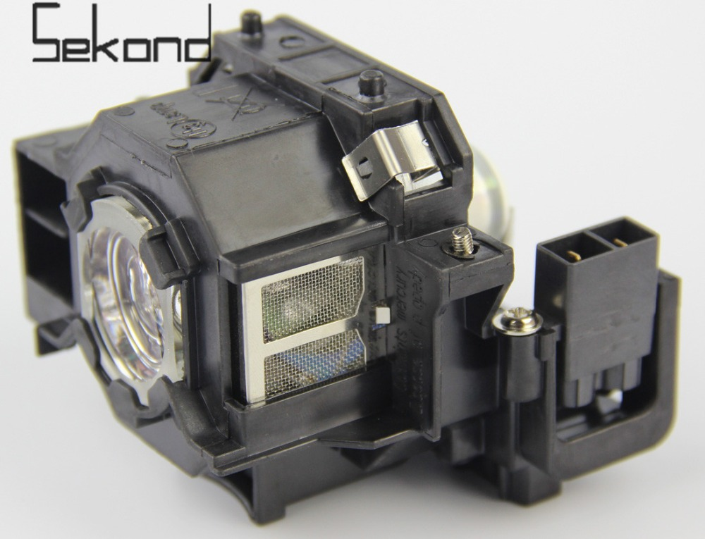 SEKOND ELPLP41 Original Projector Lamp/Bulbs with Housing For Epson PowerLite S5 / S6 / 77C / 78, EMP-S5, EMP-X5, H283A, HC700 pureglare original projector lamp for epson v13h010l50 with housing