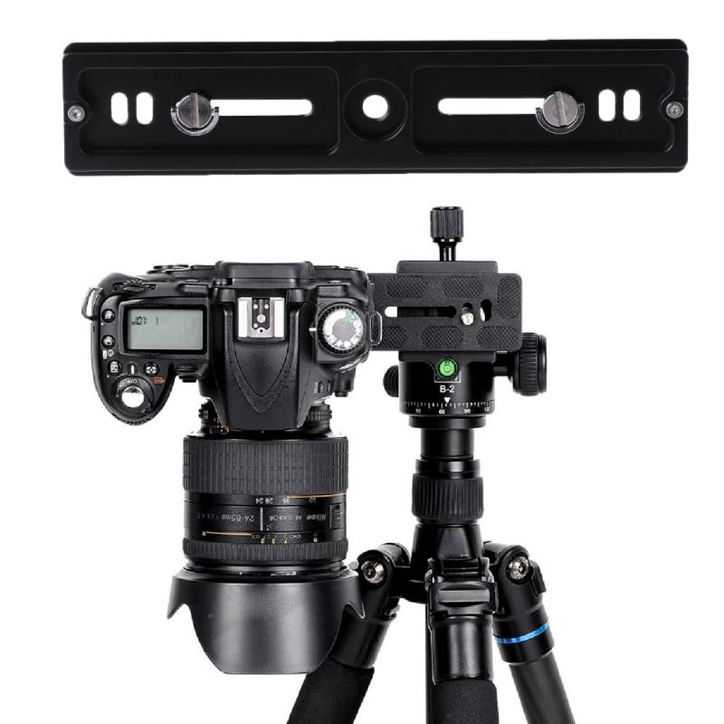 SIV PU-200 New Quick Release QR Plate Bracket For Universal Tripod Camera Holder