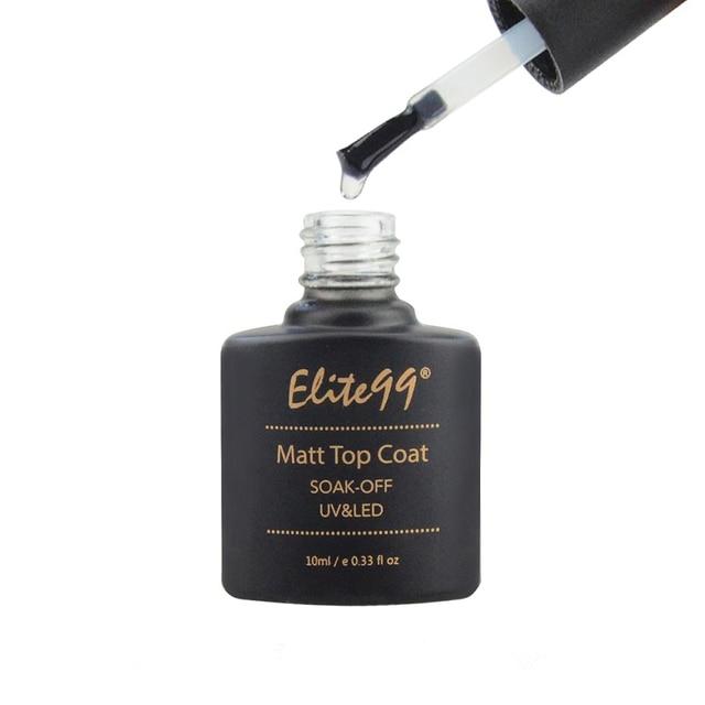 Elite99 10 ml Matt Top Mantel Nagel Gel Polish Nail art Transparent Dull Finish Matte Top Mantel Lang Anhaltende Gel lack Matt Top Gel