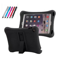 For IPad Air 2 Case Expanding Volume Water Proof Silicone Protector Stand Case For 9 7