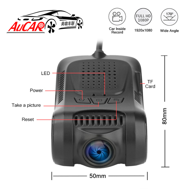 Mini Dash Cam Image Video Recorder 4