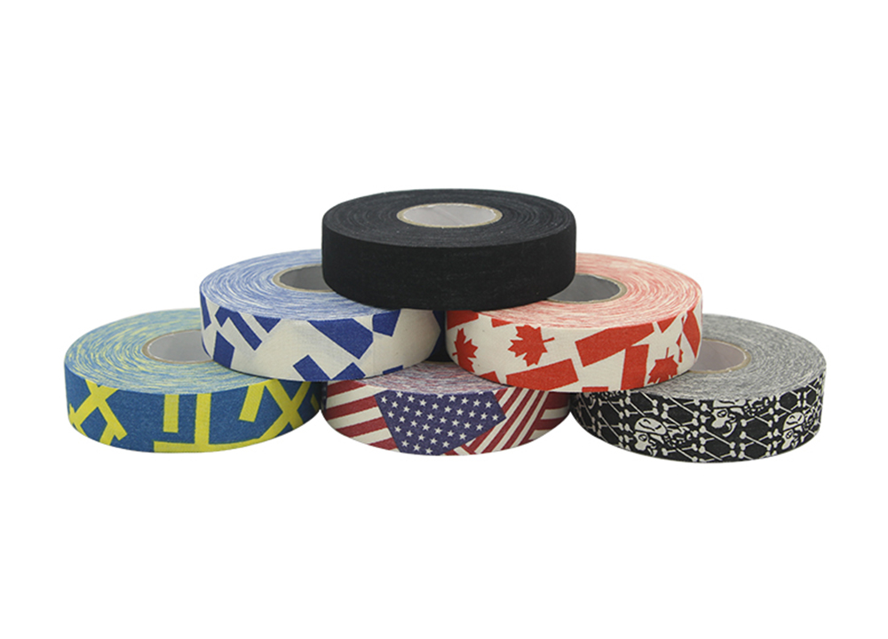 Hockey Stick Tape 1Pc 2.5mm x 25m Multipurpose Colorful Sport Safety Cotton Cloth Enhances Ice field Hockey badminton Golf Tape