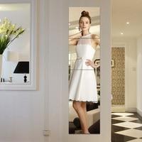 Rimless combination Dressing Mirror dance Full length Wall hanging Stick wardrobe Splice Mirror Ultra clear Decorative mirror