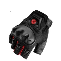 Free Shipping SCOYCO MC29D Motorcycle Half Finger Gloves Motorbike Luvas Para Motocross Gloves Bicycle Racing Gloves