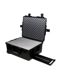 Tricases waterproof safety Case M2720 with Foam for Sports & Outdoors (Black) by Tricases