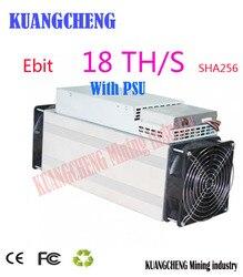 Utilizzato Asic minatore Ebit E10 18T SHA256 Bitecoin BCH BTC Minatore meglio di antminer S9 S11 S15 WhatsMiner M3X m10 Innosilicon T2T T3