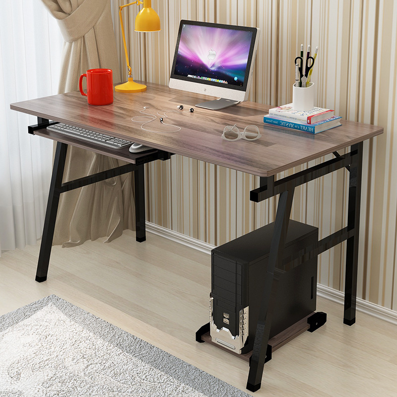 Fashion Office Desktop Home Computer PC Desk Simple Modern Laptop Desk Study learin Writing Office Table Commerical Furniture 250616 computer desk and desk style modern simple desk with bookcase desk simple table solder edge e1 grade sheet material