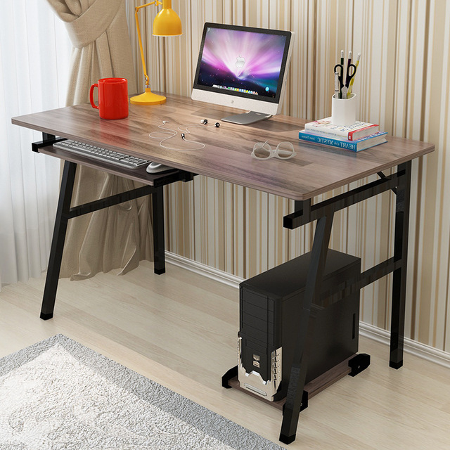 Fashion Office Desktop Home Computer PC Desk Simple Modern Laptop Desk  Study Learin Writing Office Table Commerical Furniture