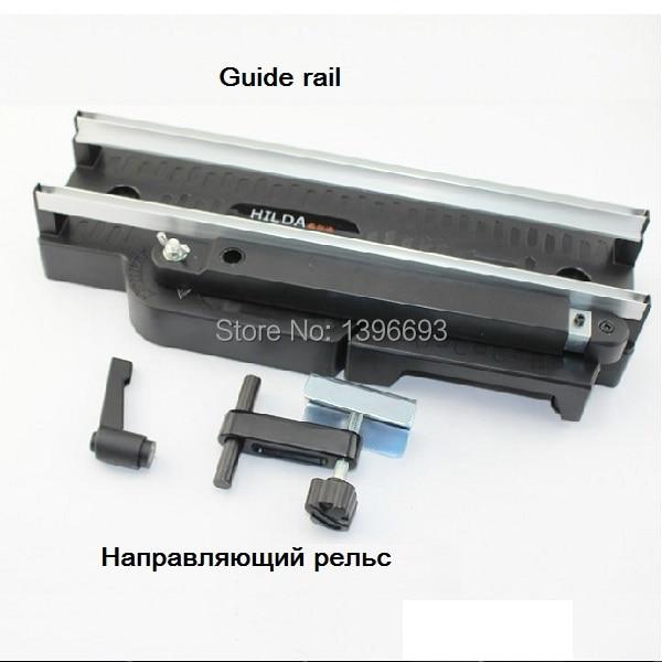 راهنمای حمل و نقل رایگان میز ریلی آلومینیوم راه آهن برای مینی اره مدور ، لوازم جانبی ابزار قدرت ، کاربرد مدل HILDA.