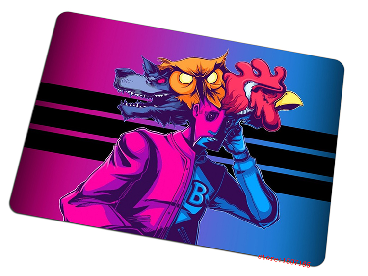 9 size cool Hotline Miami mouse pad large cheapest pad to mouse computer mousepad best gaming mouse mats to mouse gamer
