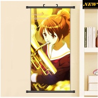 45X95CM Sound Hibike Euphonium Kyoto Oumae Kumiko Cartoon Anime Art Wall Picture Mural Scroll Cloth Canvas