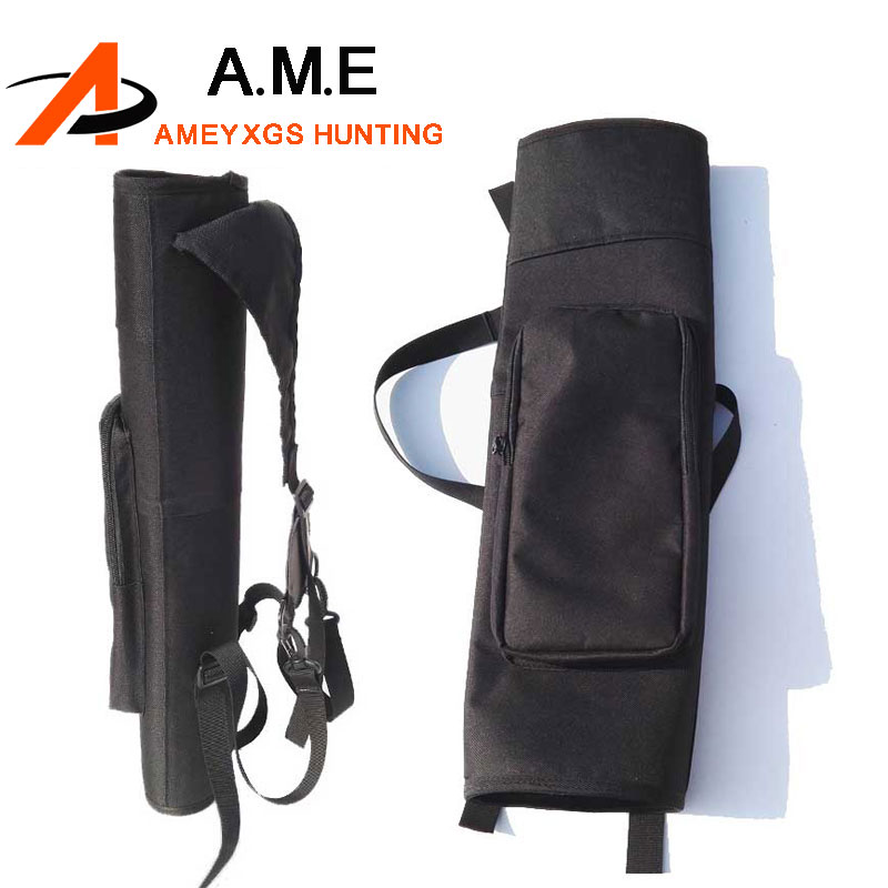 1 Piece Back Strap Archery Quiver 24 Arrows Quiver Simply Quick Quiver Holder Arrow Case for Compound Bow Recurve Bow 3mm genuine cowhide leather archery arrow quiver for shooting hunting archery quiver compound recurve arrows holder case bag
