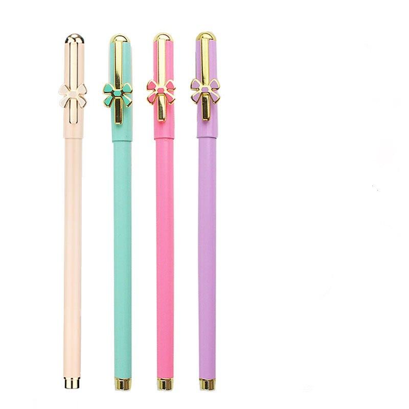 Gel Pen Metal Barrel , 0.5mm Needle Tip, Black Ink Gel Pen , Assorted Colors , Specially Sweet Candy Colors for Girls Gift 38mm cylinder barrel piston kit