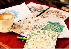 Image 5 - แรงบันดาลใจเซน50 Mandalasป้องกันความเครียด(ฉบับที่3),หนังสือระบายสีสำหรับผู้ใหญ่ศิลปะสร้างสรรค์หนังสือ