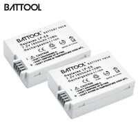 2 paquets 7.2 V 1800 mAh LP-E8 LP E8 LPE8 Li-ion Batterie Pour Appareil Photo Canon EOS 600D 650D 550D 700D T4i T5i Rebelles T2i Bateria DSLR