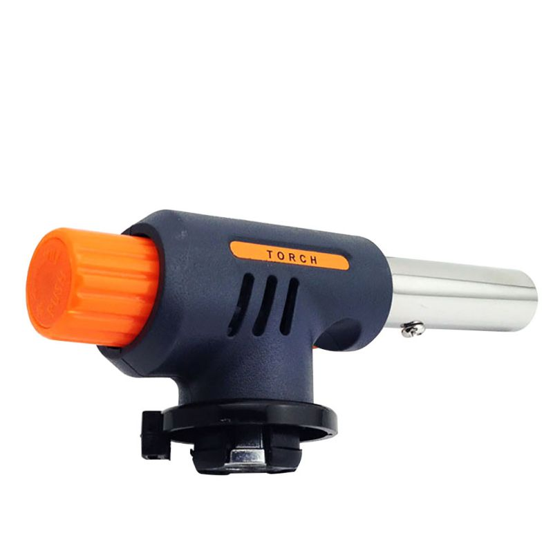 Outdoor Travel Gas Torch Flamethrower Butane Auto Lgnition Camping Welding BBQ With Outdoor