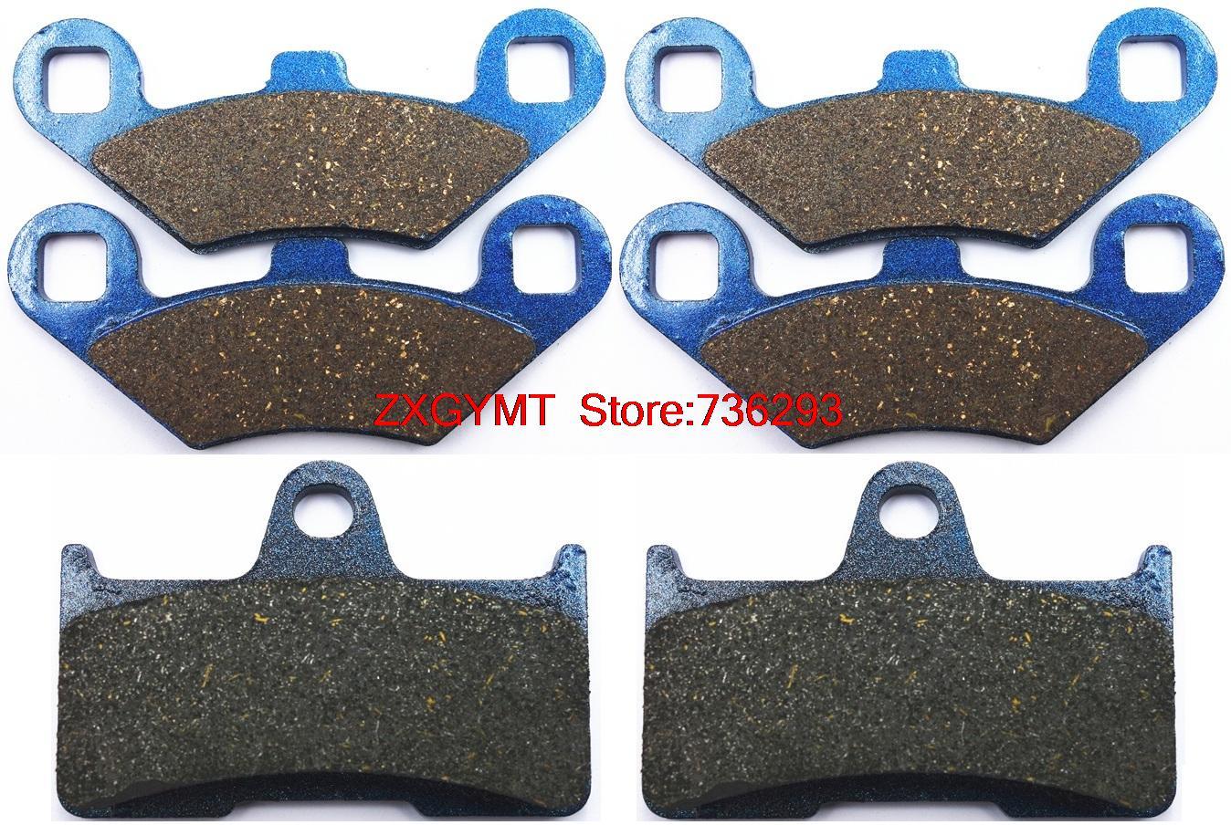 Atv / Utv Semi Metallic Brake Shoe Pads for CF MOTO CF500 CF 500 Terralander 2013 & up защита atv cf moto x8 алюминий 4 мм