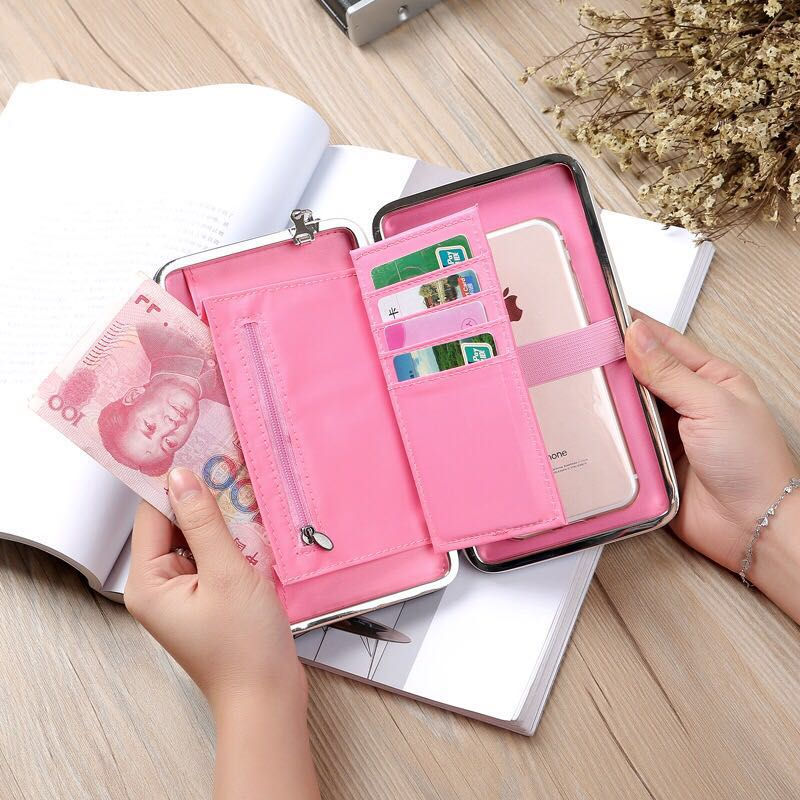 2017 New purse wallet female famous brand card holders cellphone pocket gifts for women money bag clutch purse bow wallet female famous brand card holders cellphone pocket pu leather women money bag clutch women wallet baellerry