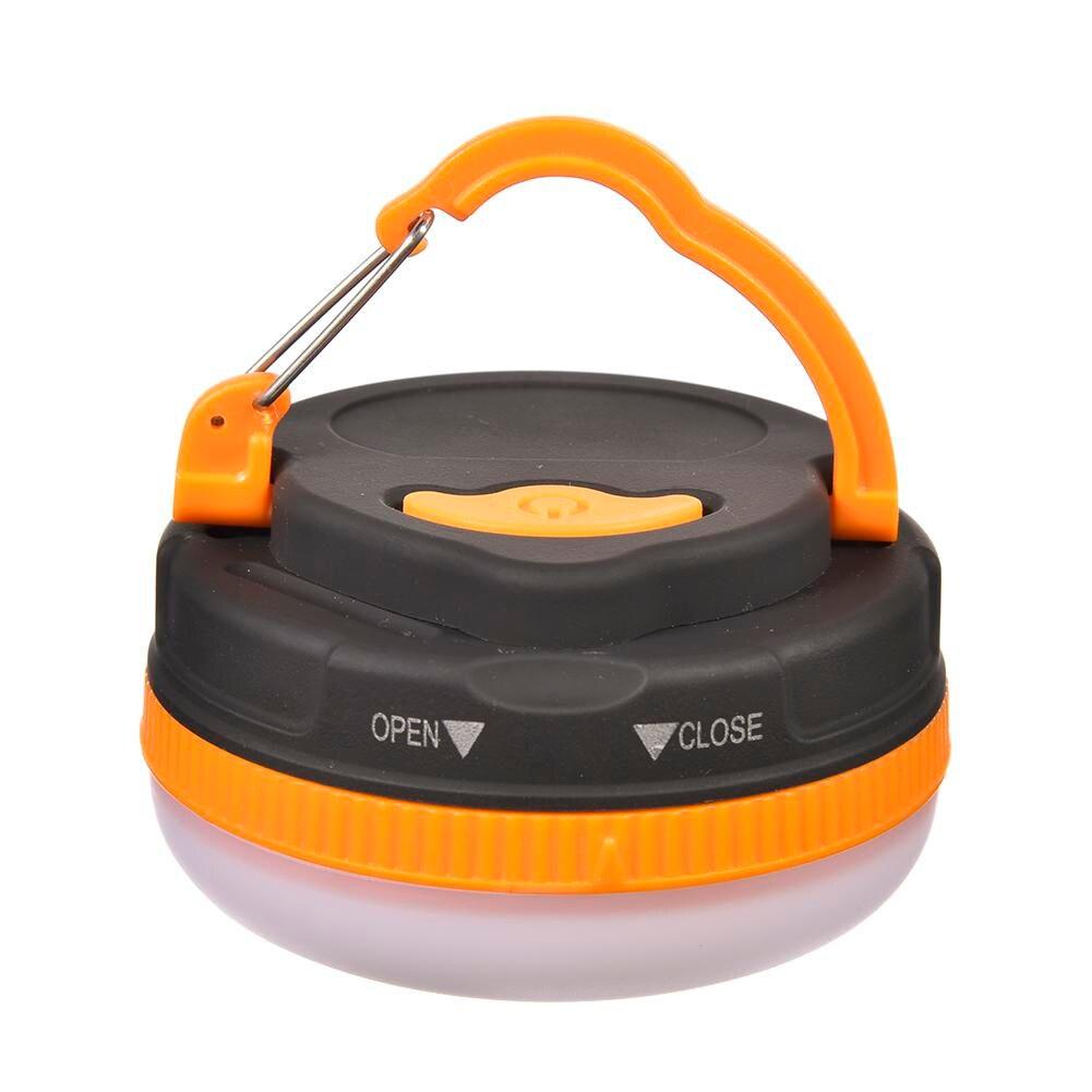 Super lumineux étanche portable camping lanterne veilleuse 3w 5 modes LED camping lumière extérieure lampe de secours blanc chaud