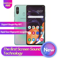 Samsung Galaxy A60 SM A6060 6.3Full Screen 2340*1080 Android 9.0 Octa Core Support NFC 32MP+8MP+5MP 3500mAh Face+Fingerprint ID