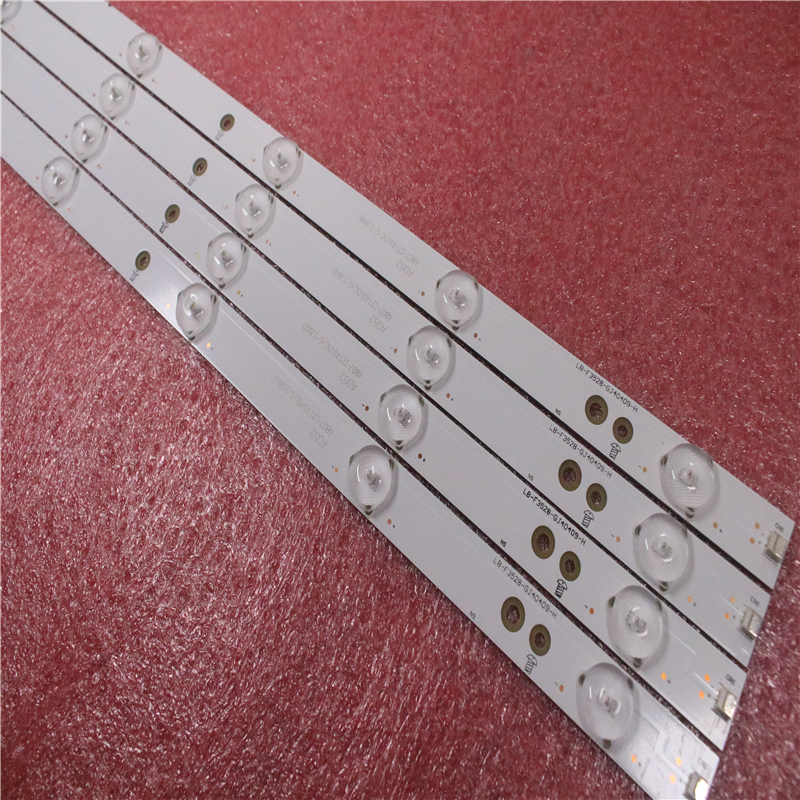 (New Kit) 4 PCS 9LEDs 798mm LED Backlight Strip For Sony TV KDL-40R380D 40PFL3240 GJ-DLEDII P5-400-D409-V7 TPT400LA-J6PE1